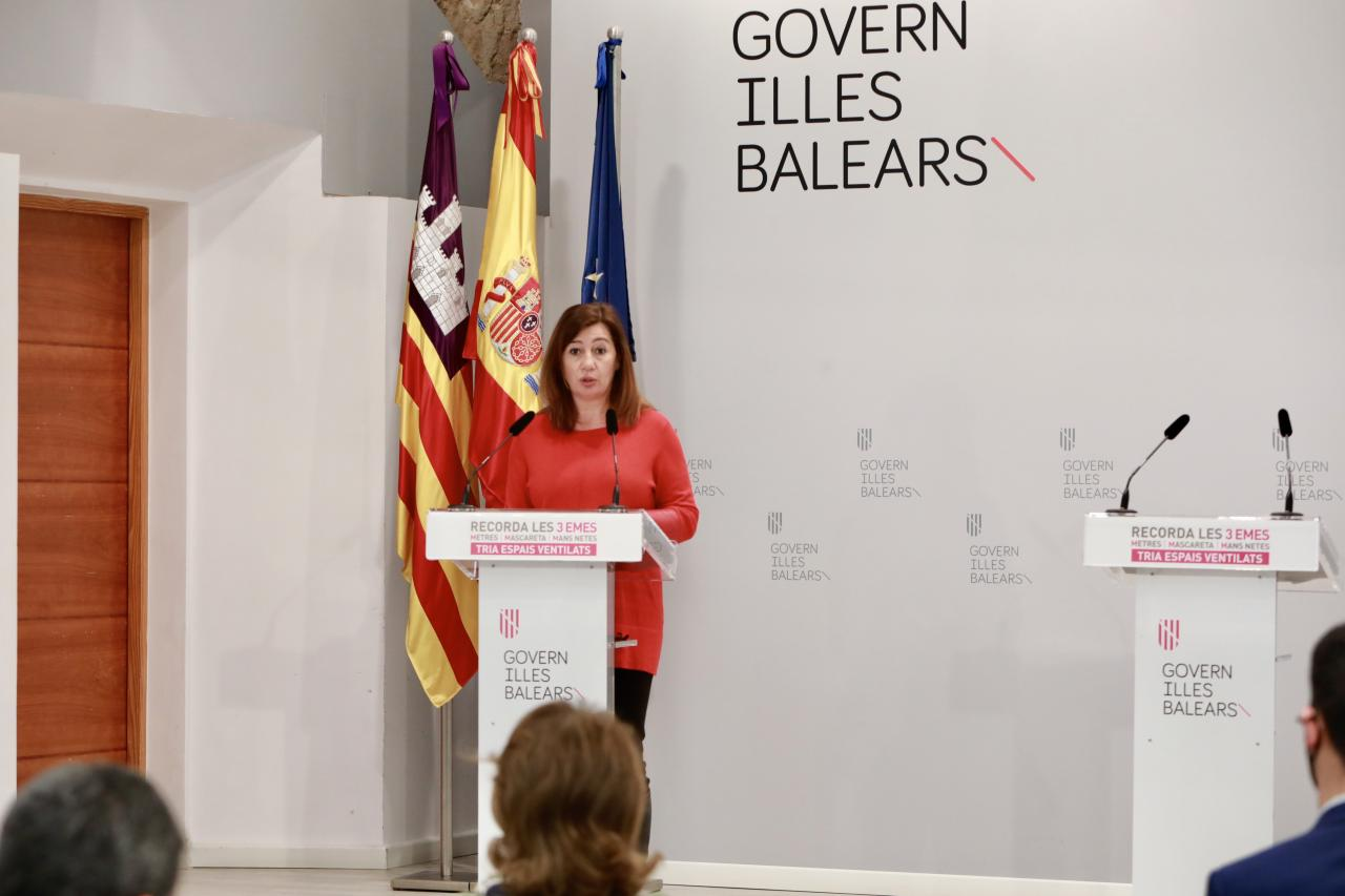 Francina Armengol, president of the Balearic islands