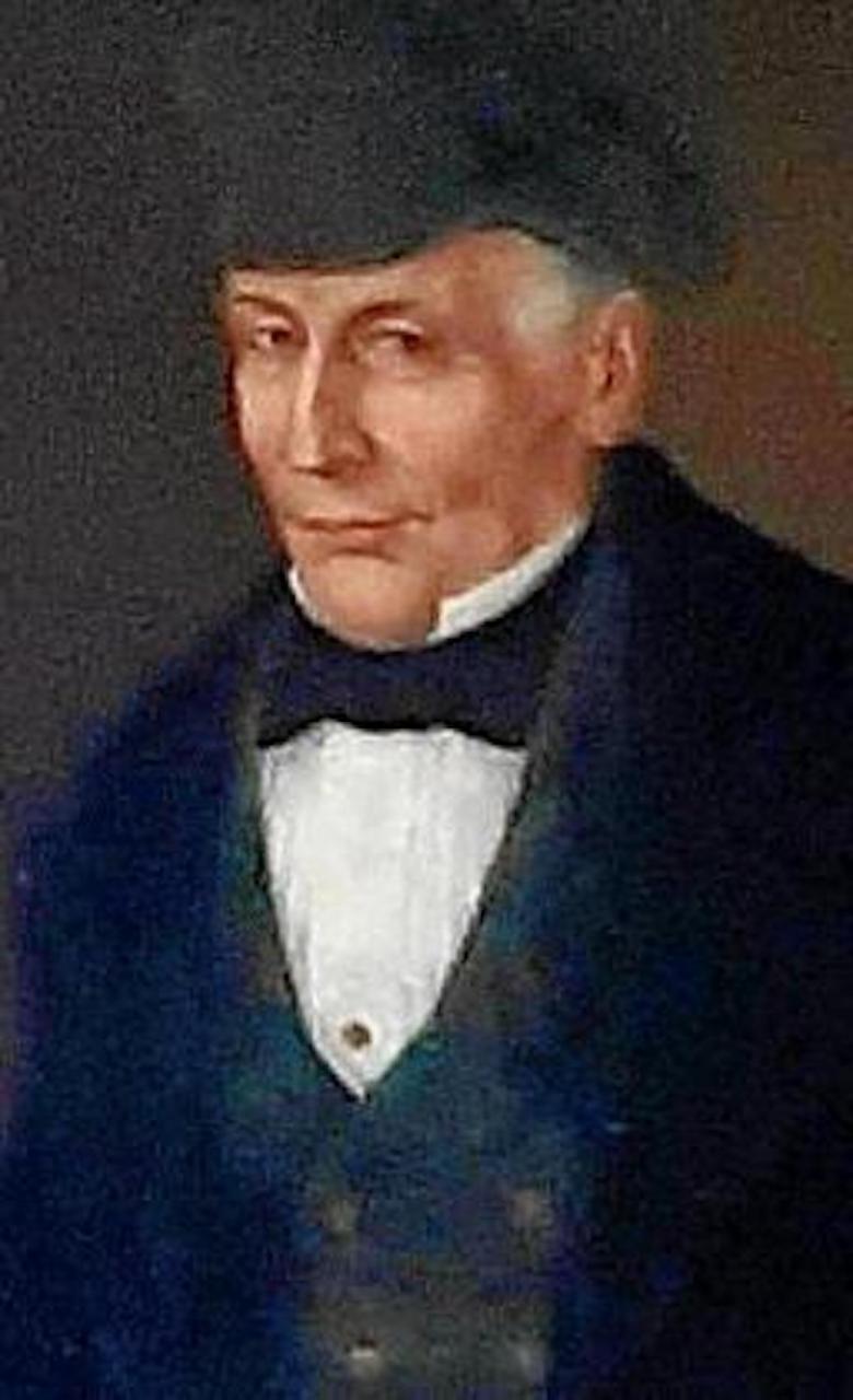 Portrait of Gabriel Josep Fuster i Pomar by Agustí Buades.