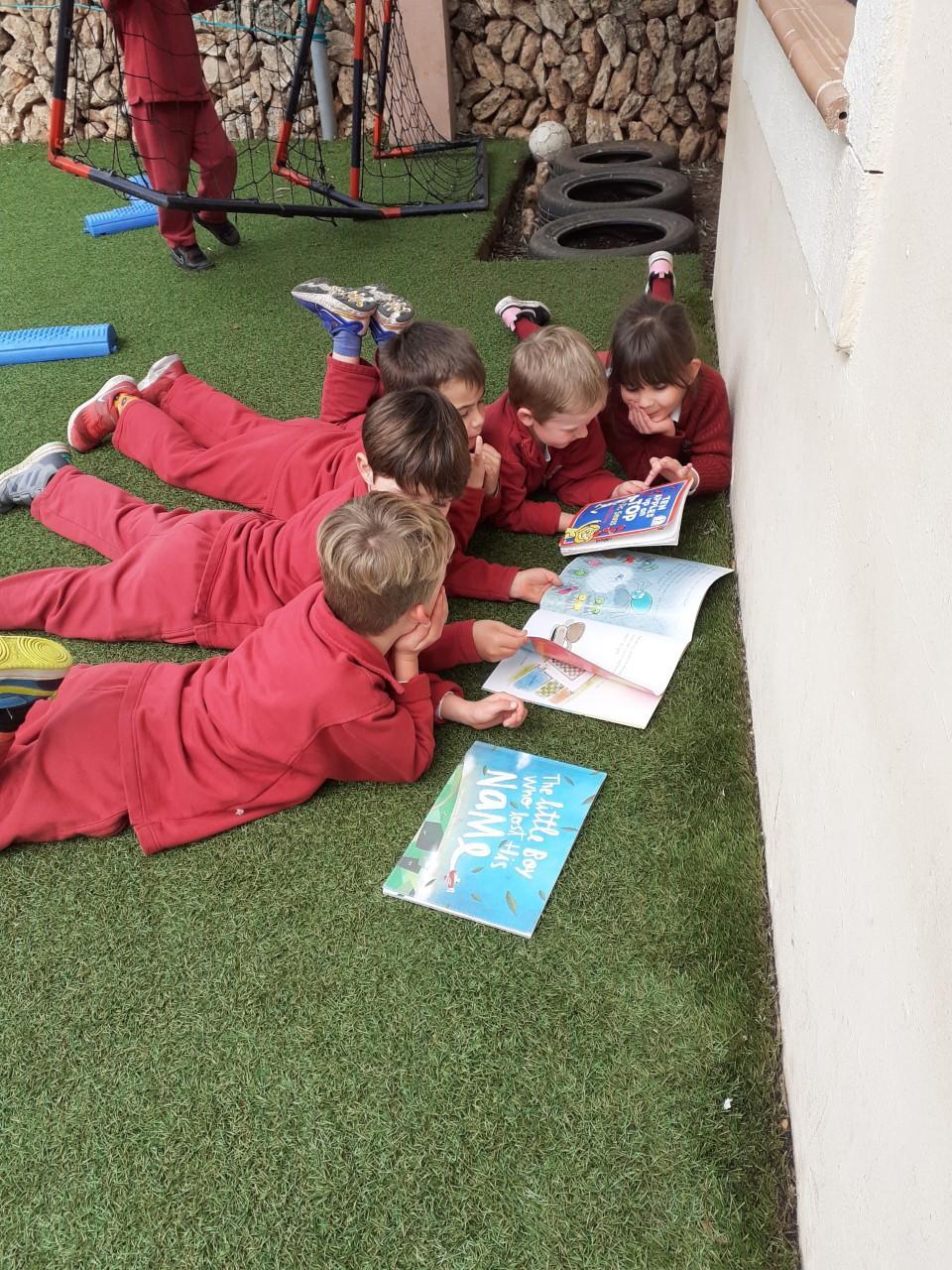 The Academy International School World book day
