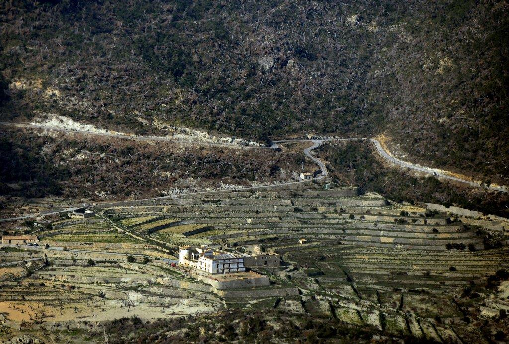 The 680-acre Son Bunyola estate in Banyabulfar which is nestled between the coast and the Tramuntana mountains