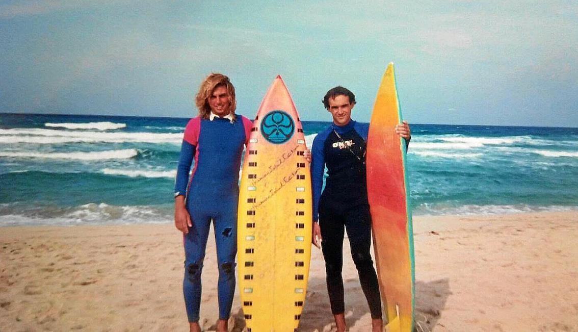 Manolo Marques & Toni Estarellas in the 1980s.