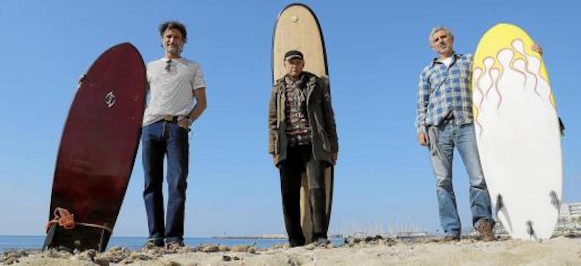 Juanjo Campos, Toni Estarellas & Manolo Marqués in Can Pastilla, Mallorca.
