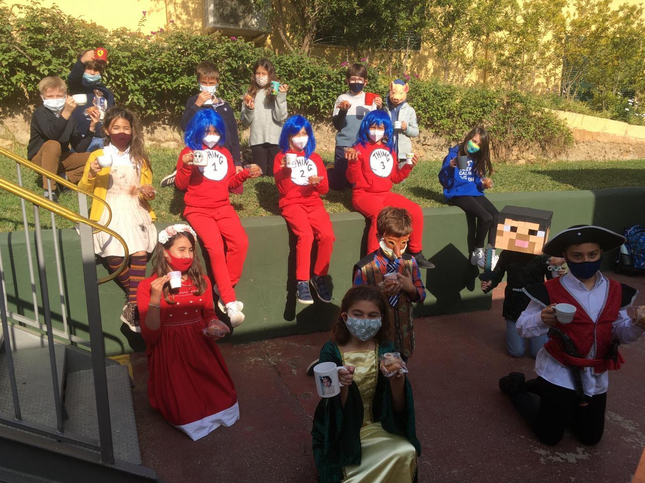 Queen's College school costumes