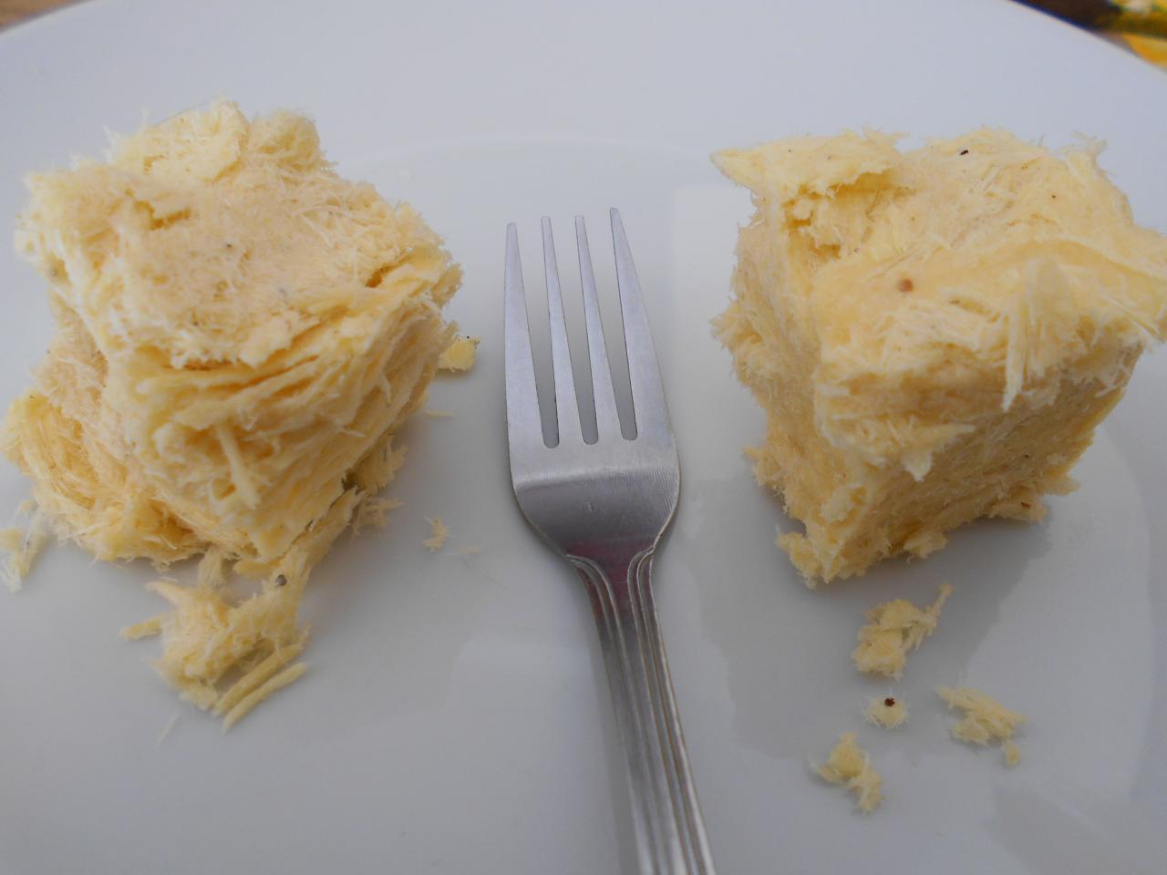The soan papri flaky pastry
