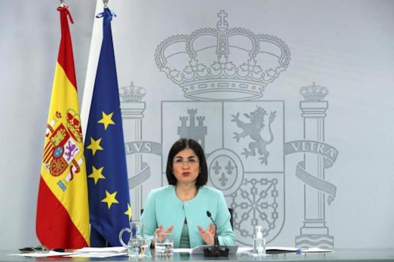 Health Minister Carolina Darias.
