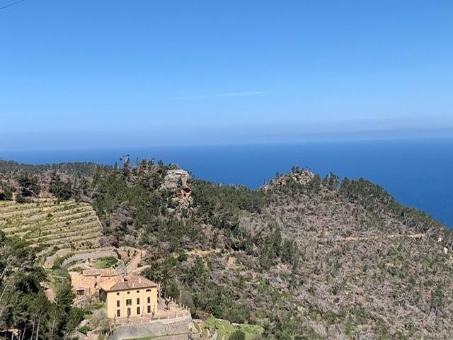 Serra de Tramuntana in Mallorca