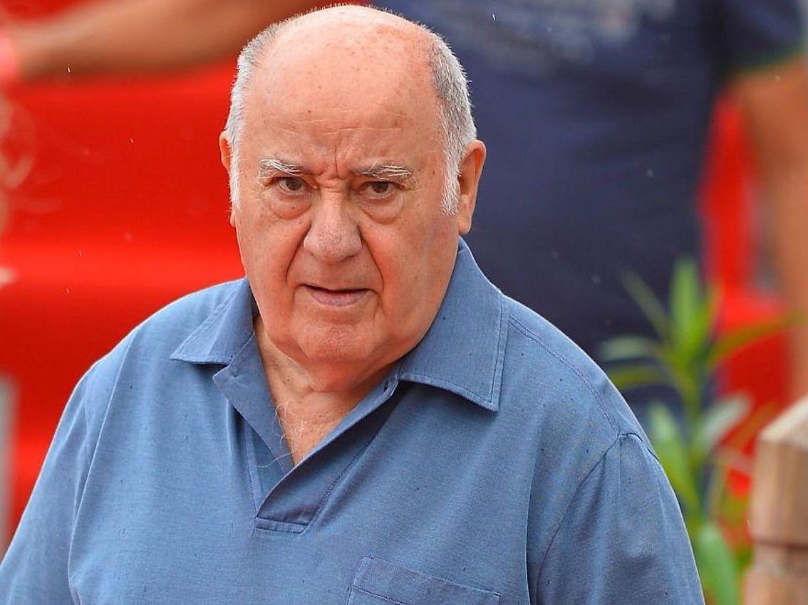 Amancio Ortega, Inditex Founder.