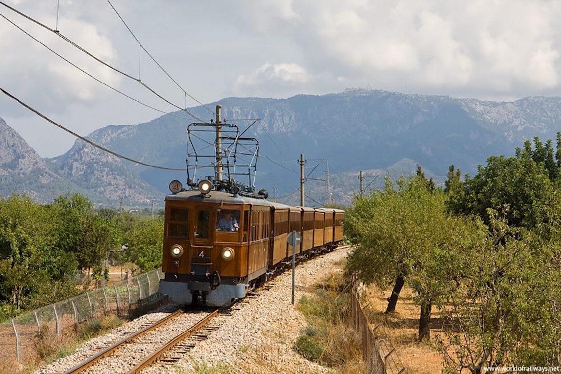 Vintage Soller Train, Mallorca.