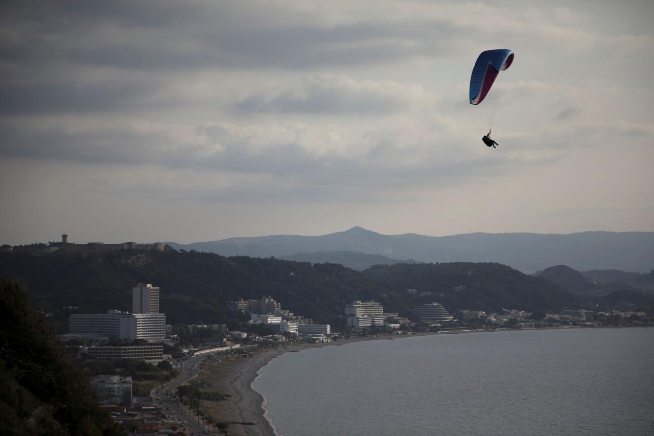 Island of Rhodes prepares for tourism season opening amid the coronavirus disease (COVID-19) pandemic