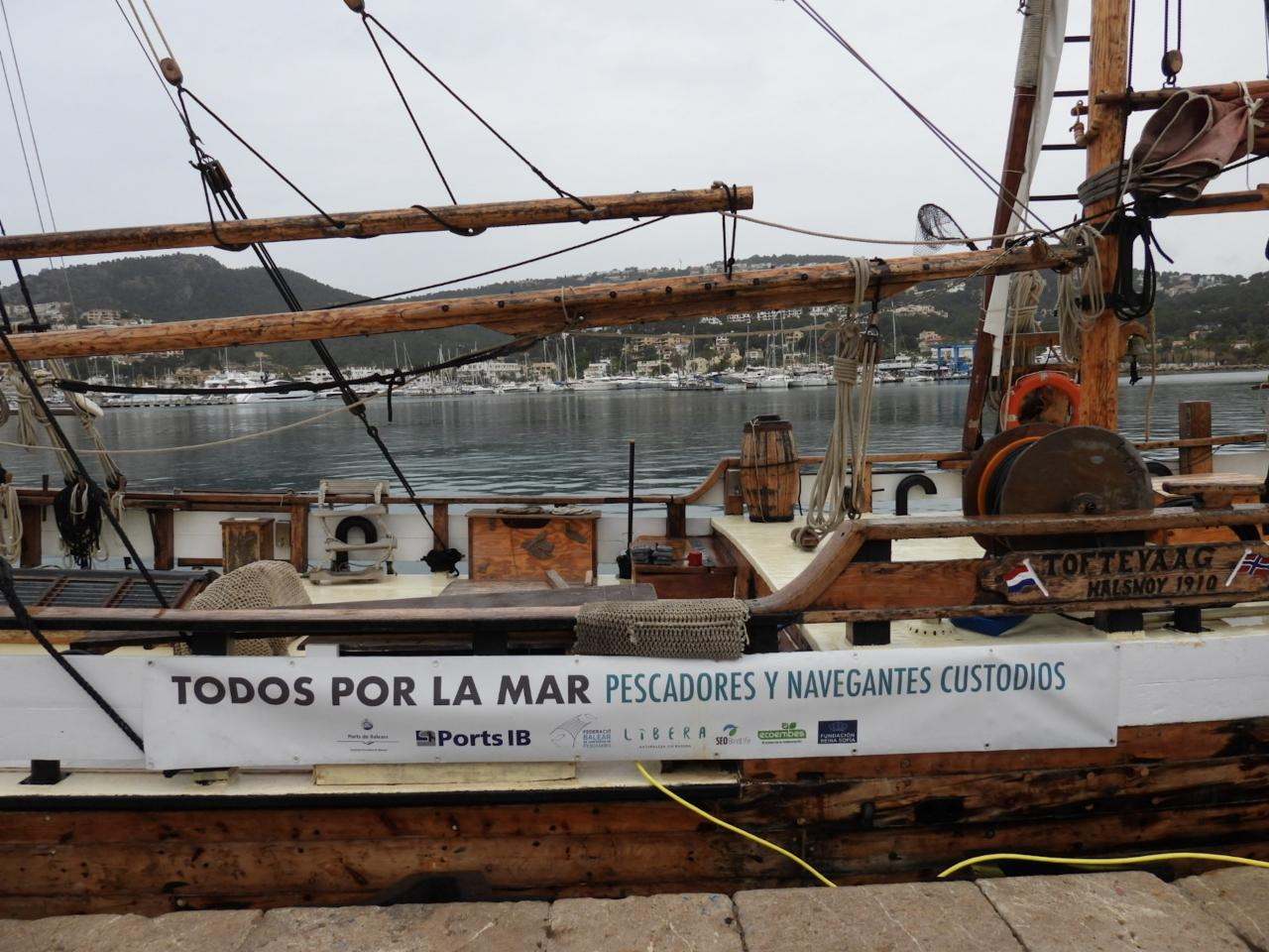 The 'Toftevaag' Research Boat.
