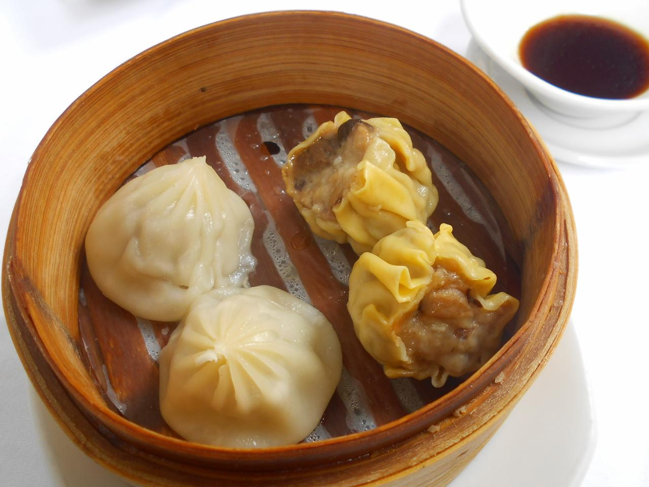 The two steamed dim-sum