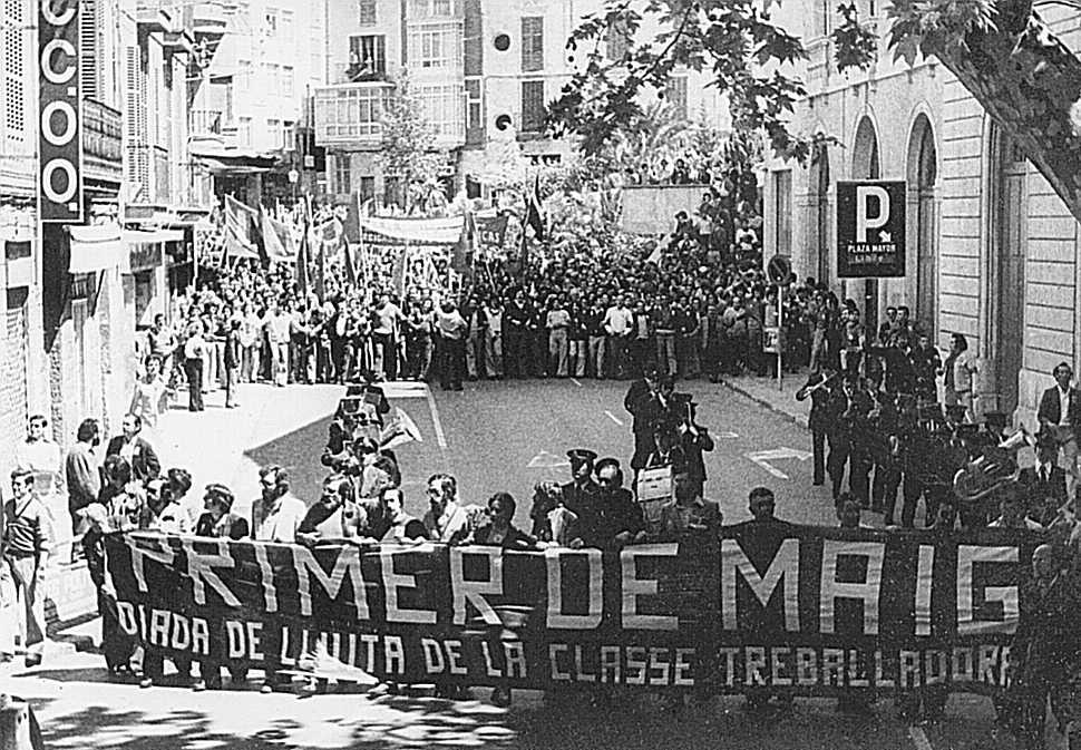 1st of may in 1978 in Palma