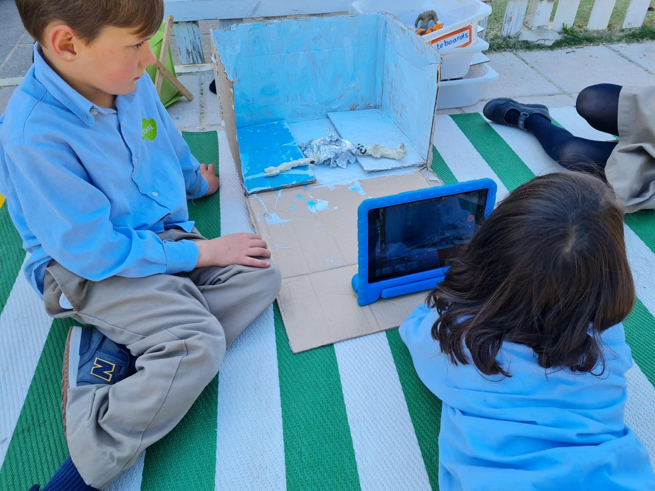 Stop Motion Movies in Year 1