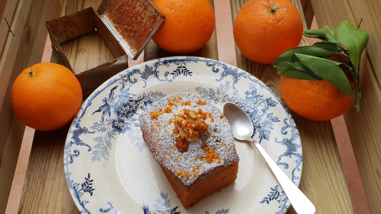Orange Spongecake
