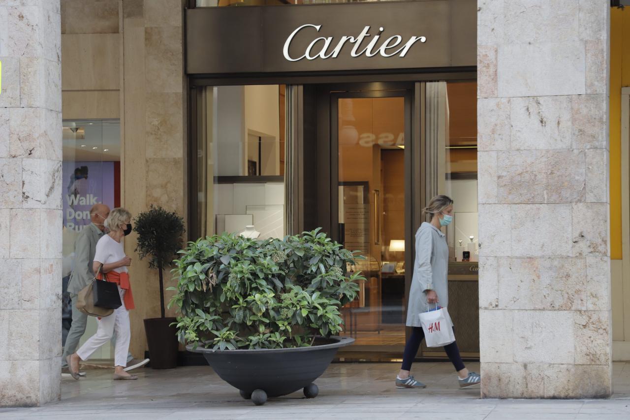 Cartier store in Avinguda Jaume III, Palma.