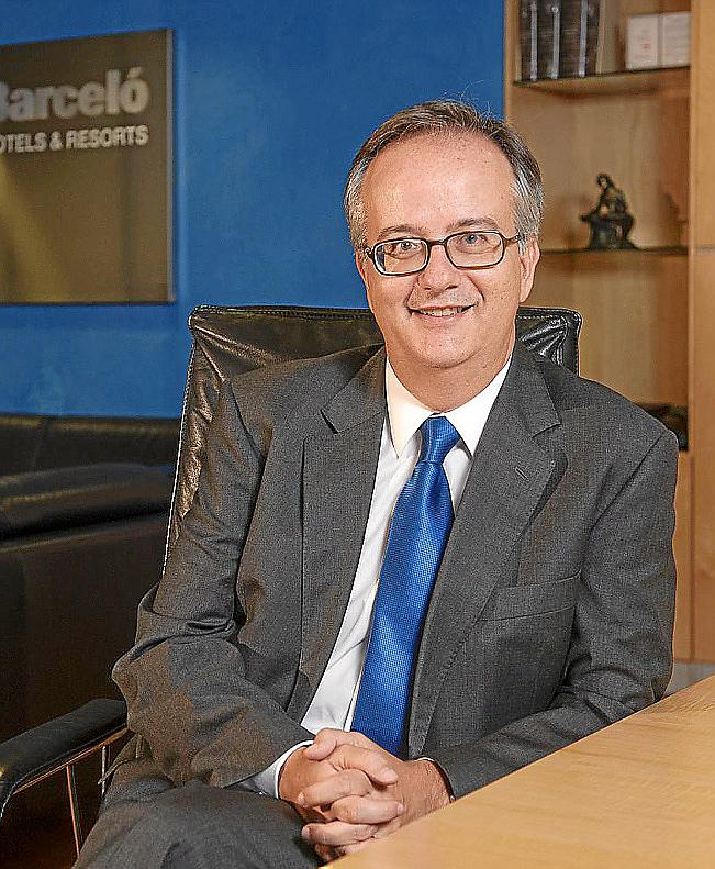 Simón Pedro Barceló is co-president of the Barceló Group
