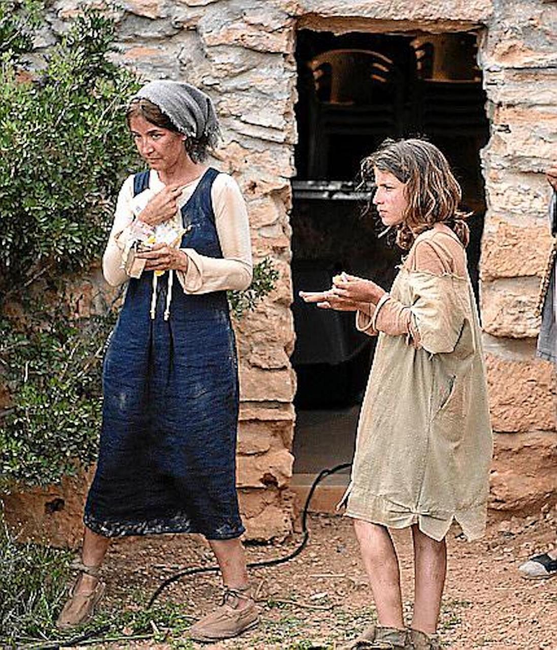 Filming of 'Piratas en Baleares' in Mallorca.