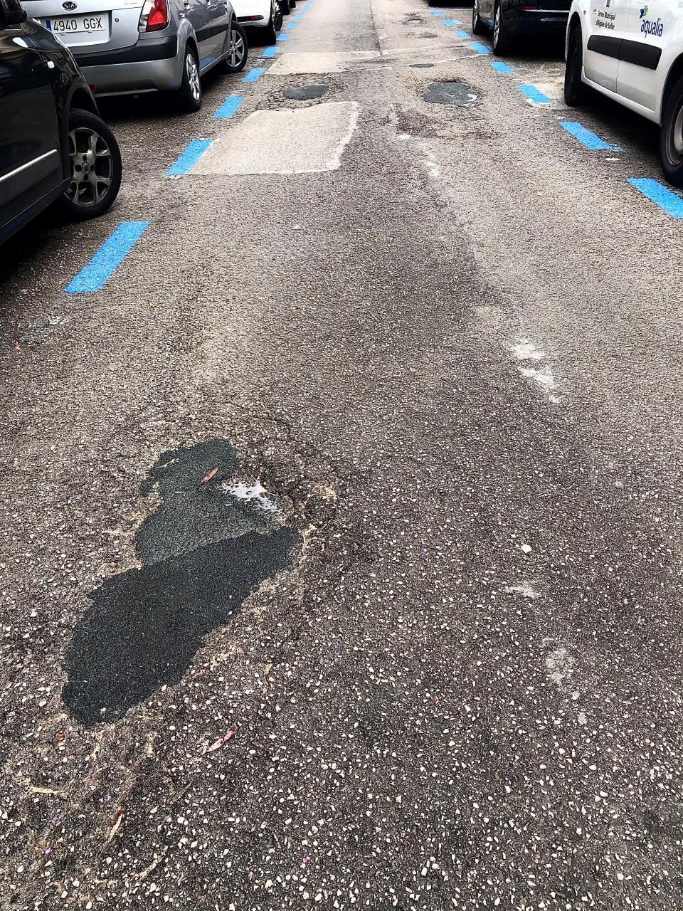 Soller's bumpy roads