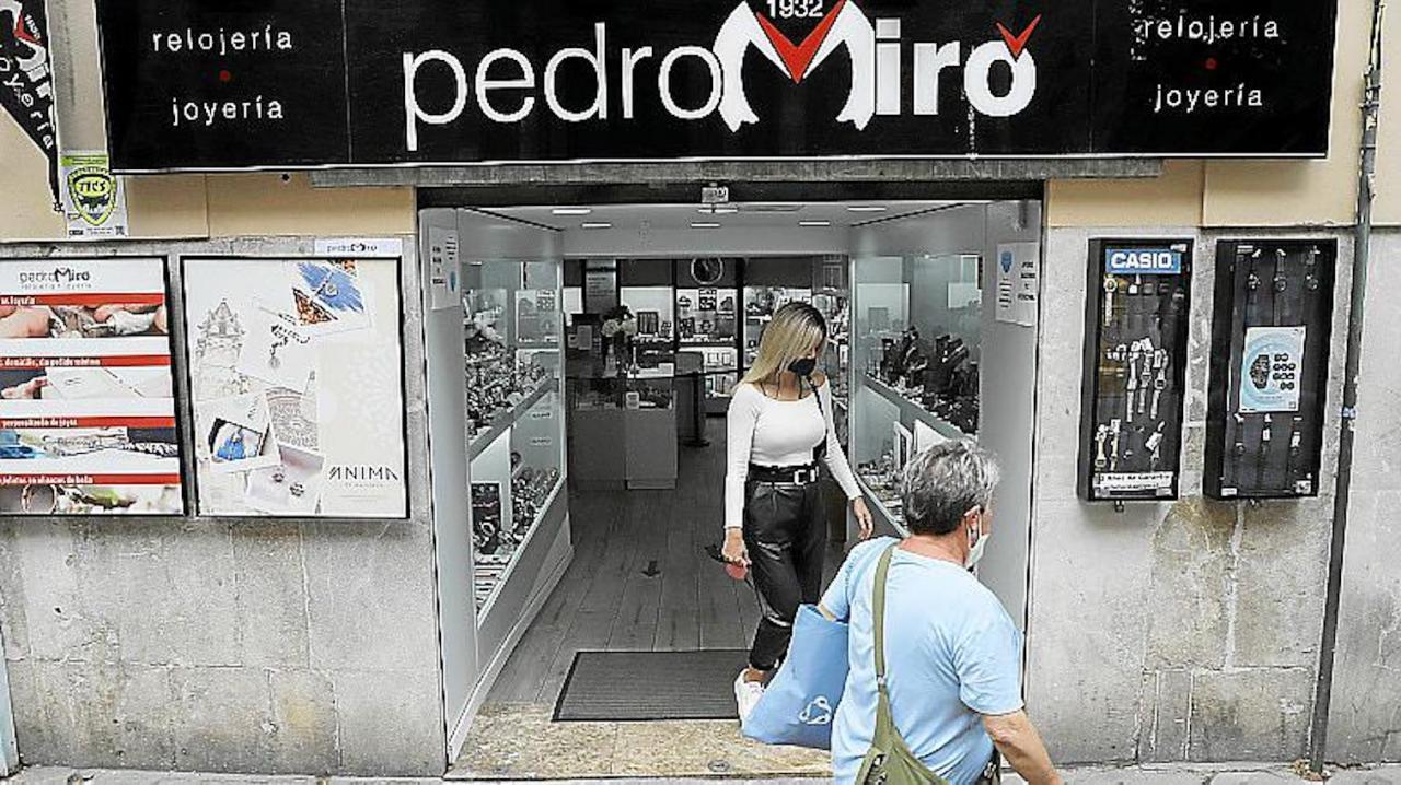 Pedro Miró, Palma.