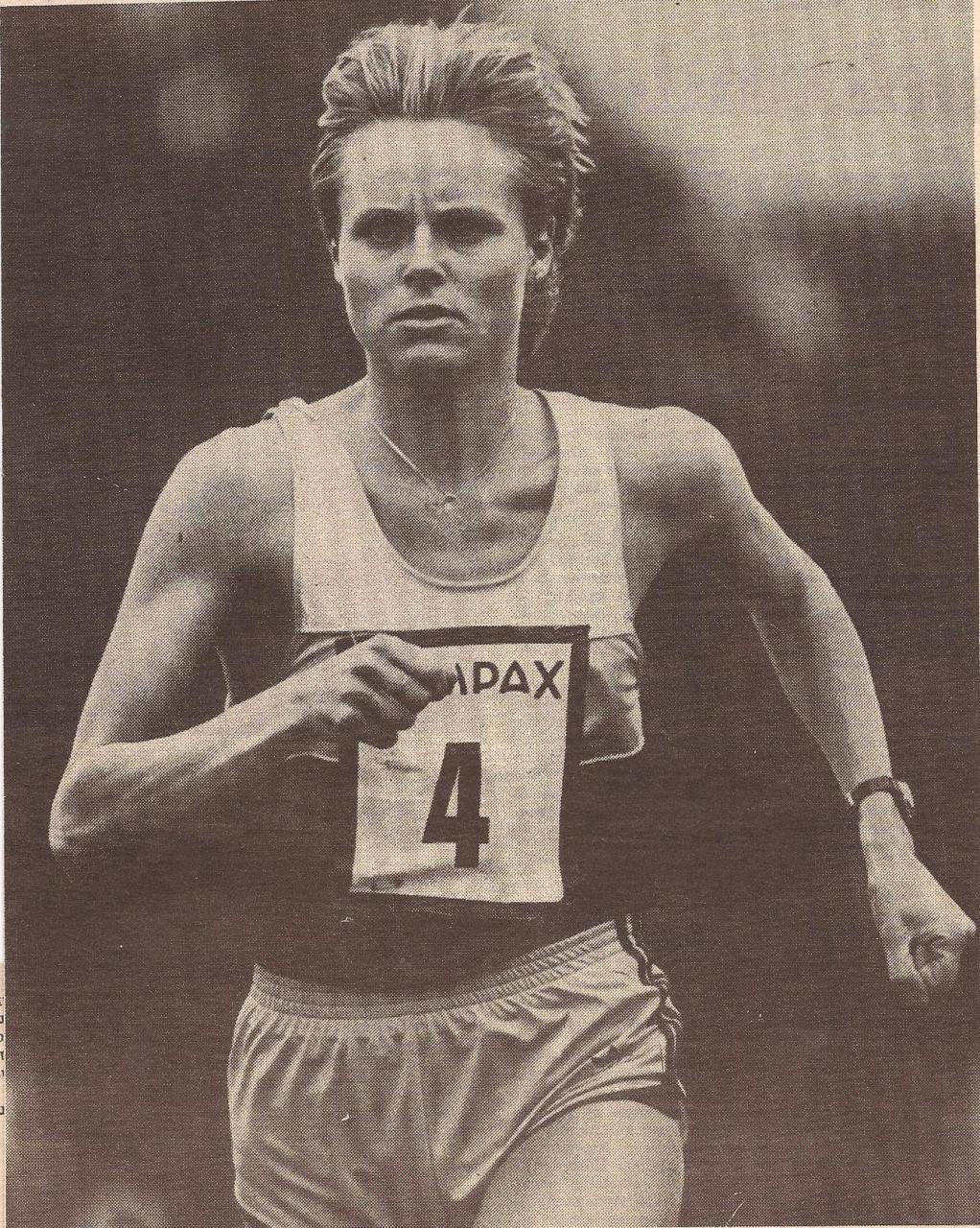 Svarre also took up triathlon in 1986