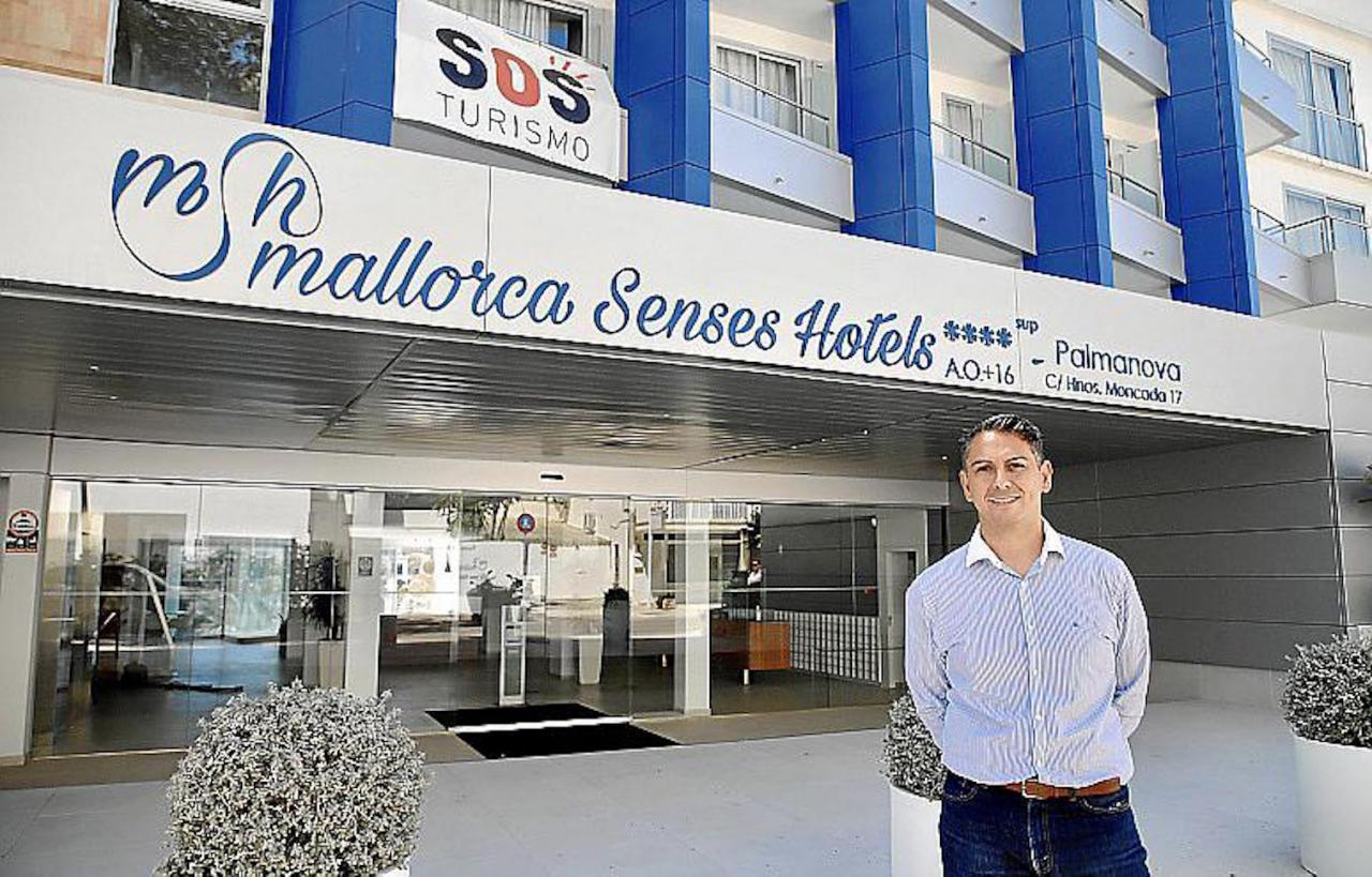 Juanjo Cerdó, Director, Senses Hotel, Palmanova.