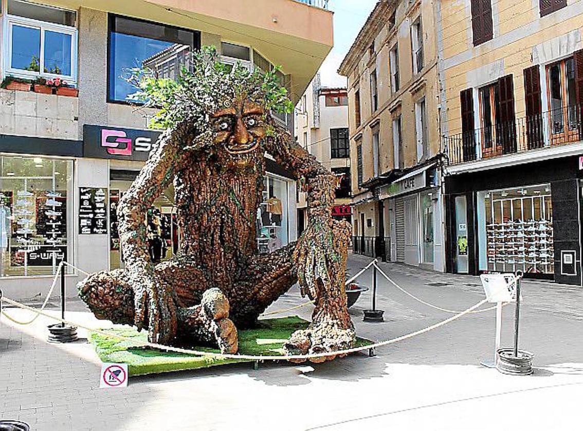 The Tree Man, Manacor.
