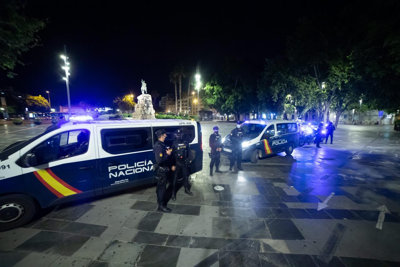 Police charges and 16 arrested in Palma at the end of the state of alarm