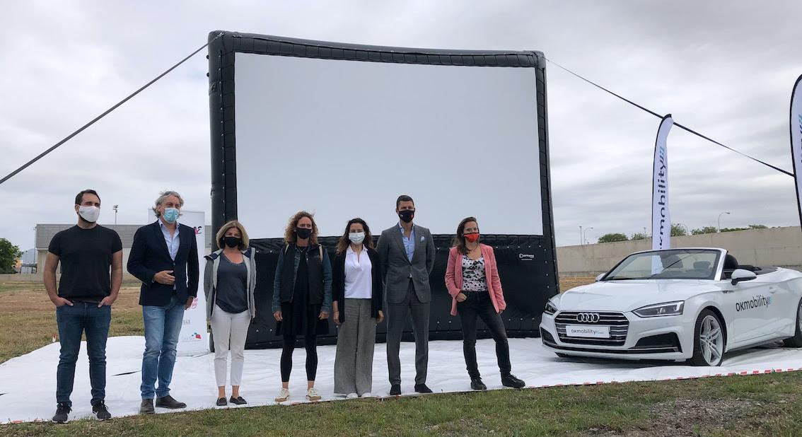 Alexander Thye, Moviescreen Spain; Othman Ktiri, OK Mobility; Vicka Duran, EMIFF; Javier Pachón, Xarxa Cinema; CineCiutat, Silvia Estarellas, Gira-sol Mental Health Association & Amada Salvà, Insel Radio.