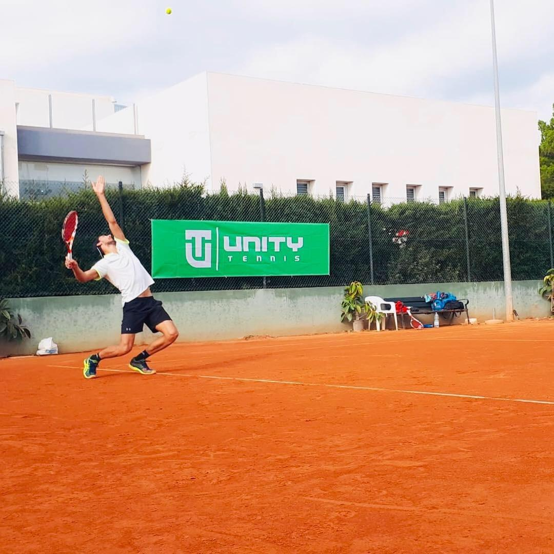 Tennis is on the rise too in our little corner of the island