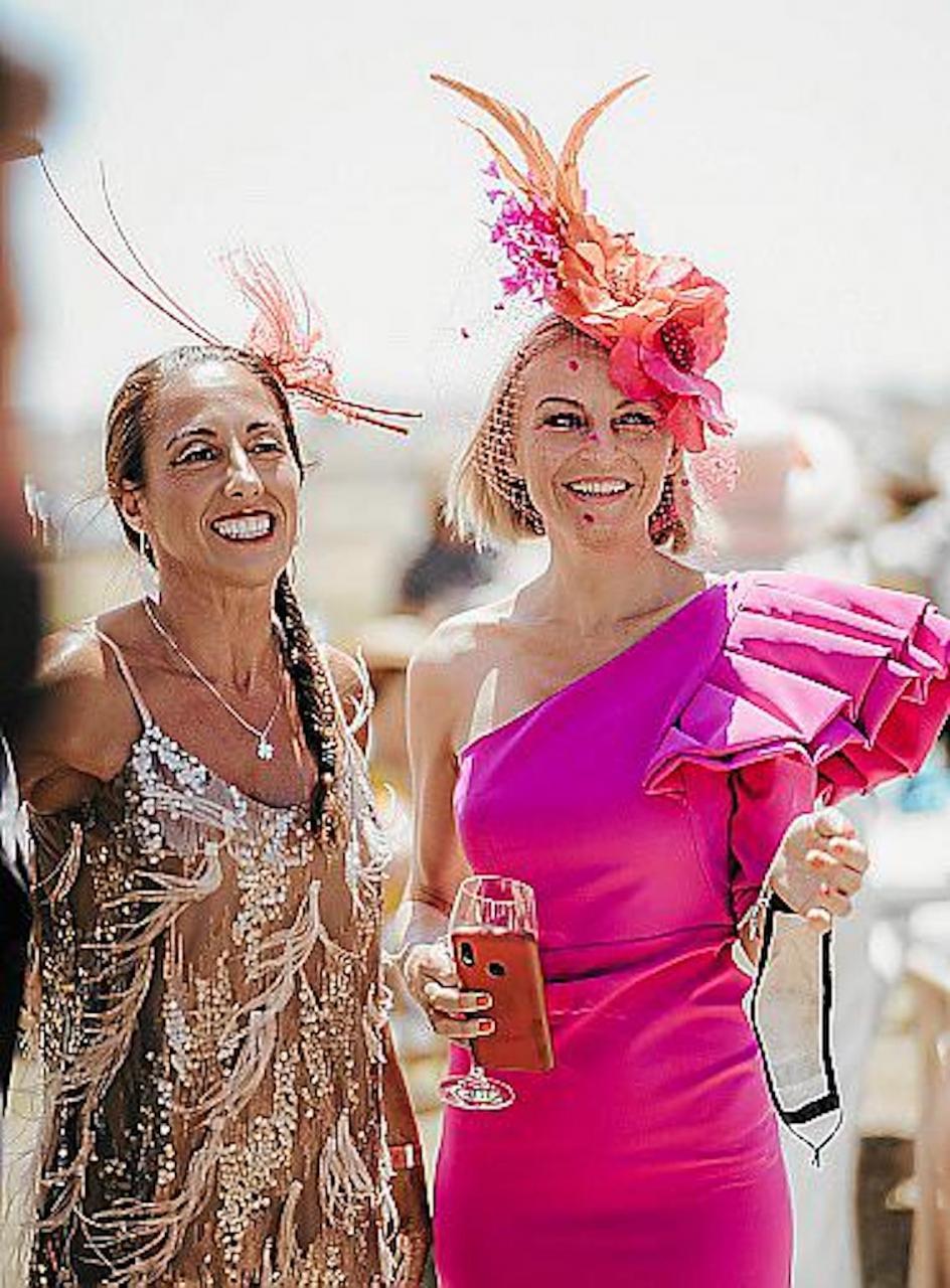 Helena Miquel & Ariadna Vilalta at Hats & Horses, Minorca.