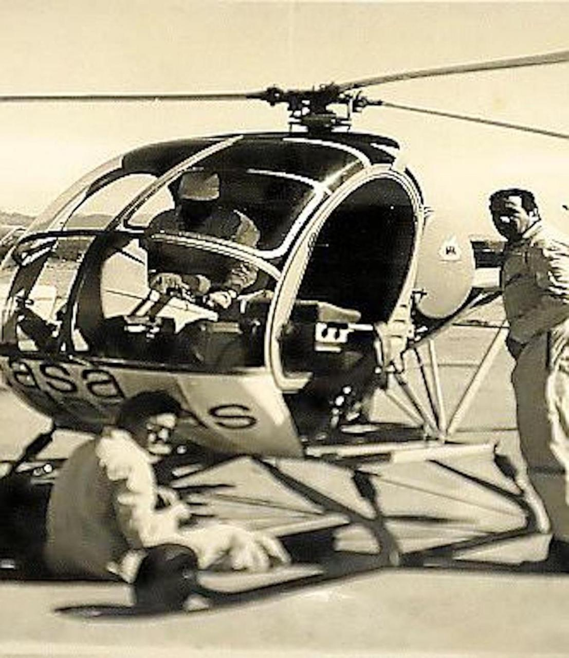 Josep Planas i Montanyà rented a helicopter to get aerials of Palma in the 50's & 60's.