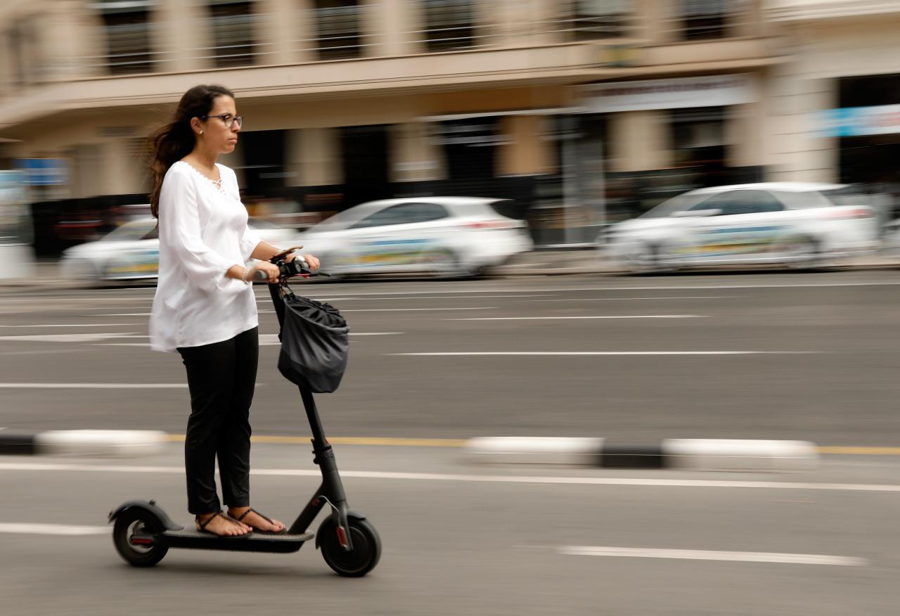 E-scooter is a fairly new phenomenon