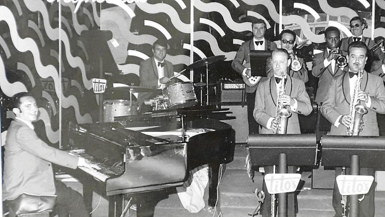 Pianist, Andreu Bennàssar & his Orchestra performing at Tito's.
