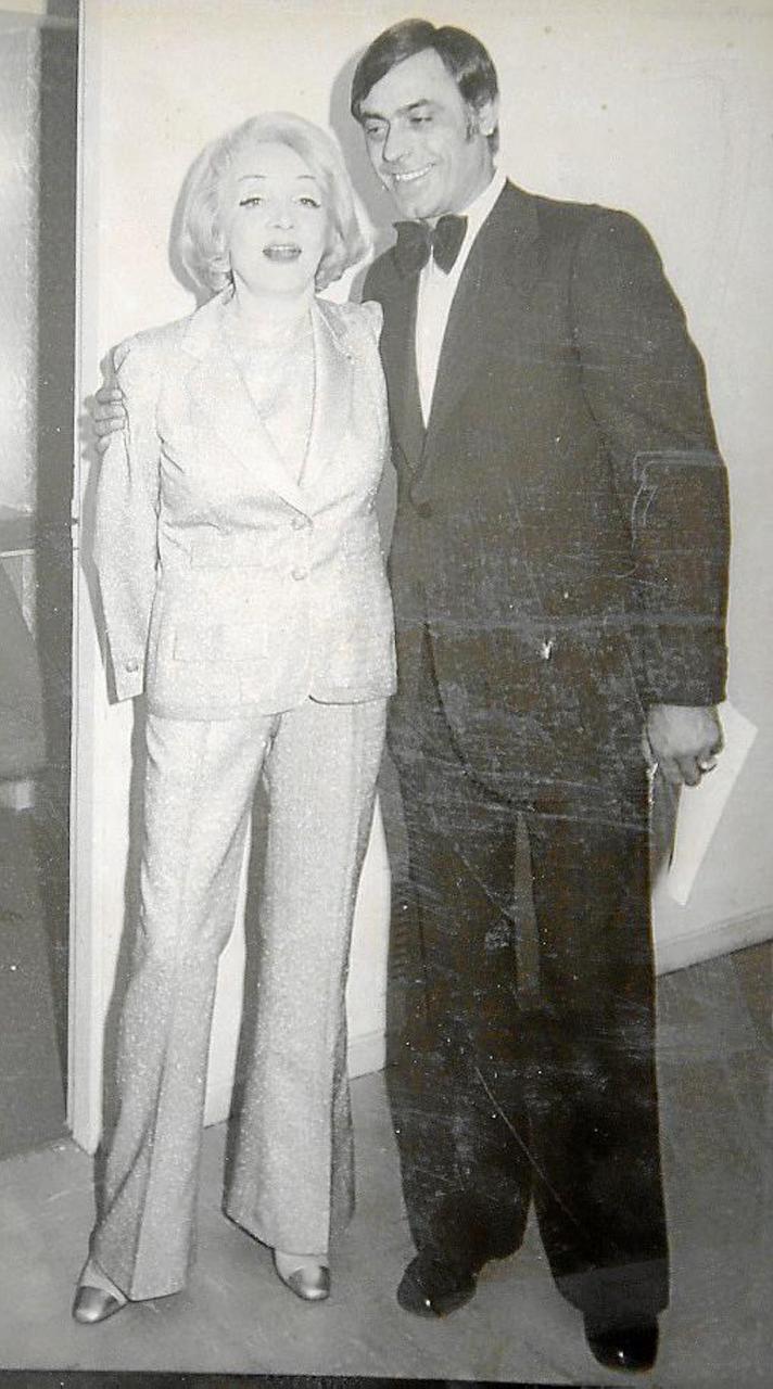 Marlene Dietrich & Paco Moyá.