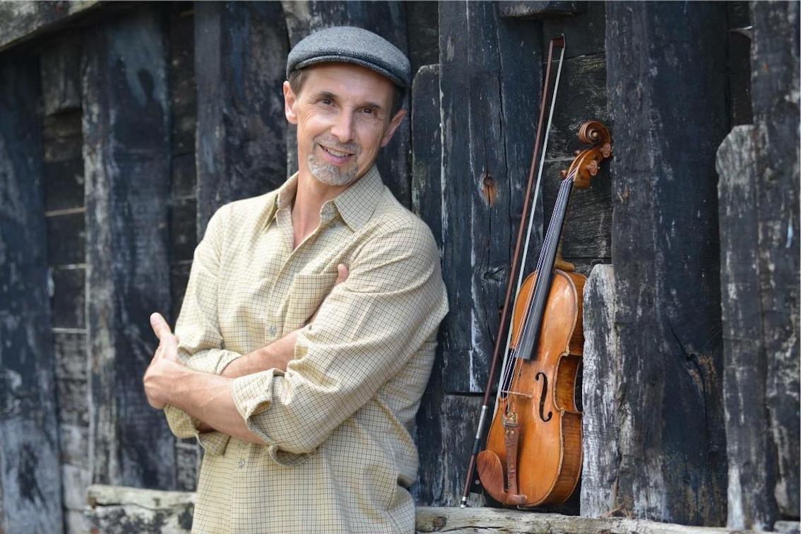 Violinist Gilles Apap.