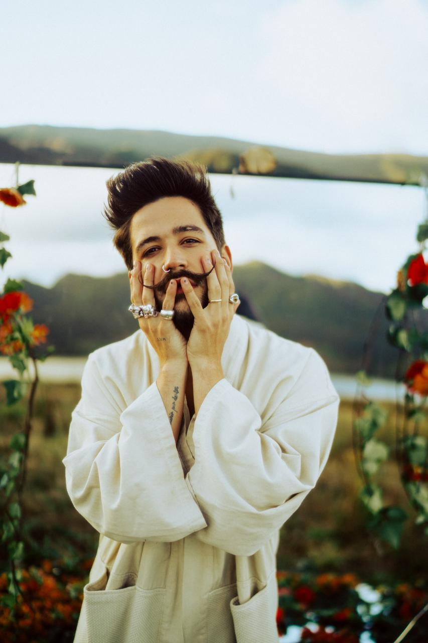 Colombian singer, Camilo.