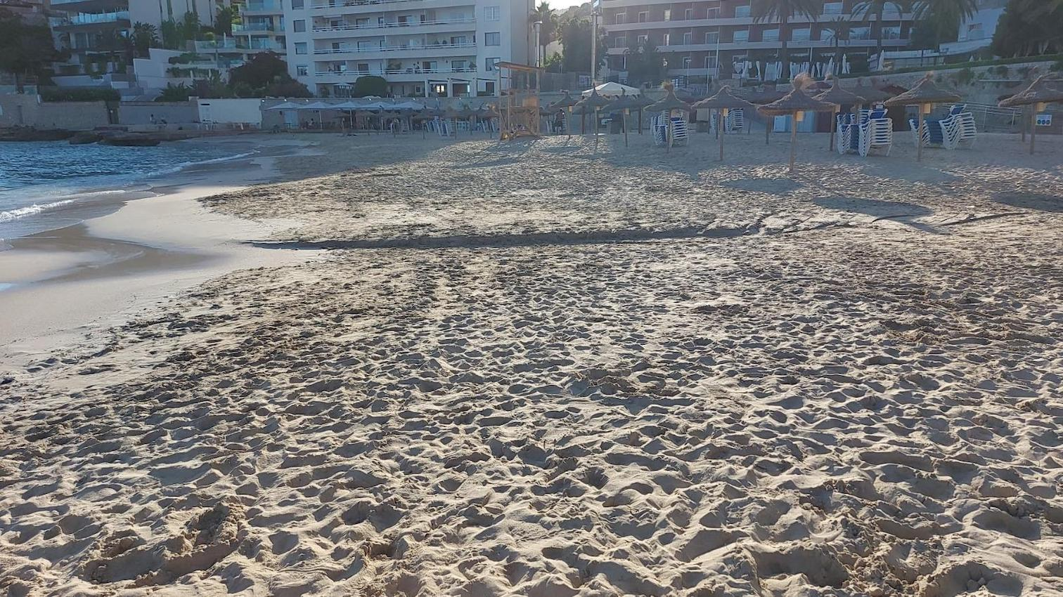 Cala Major beach, Palma.
