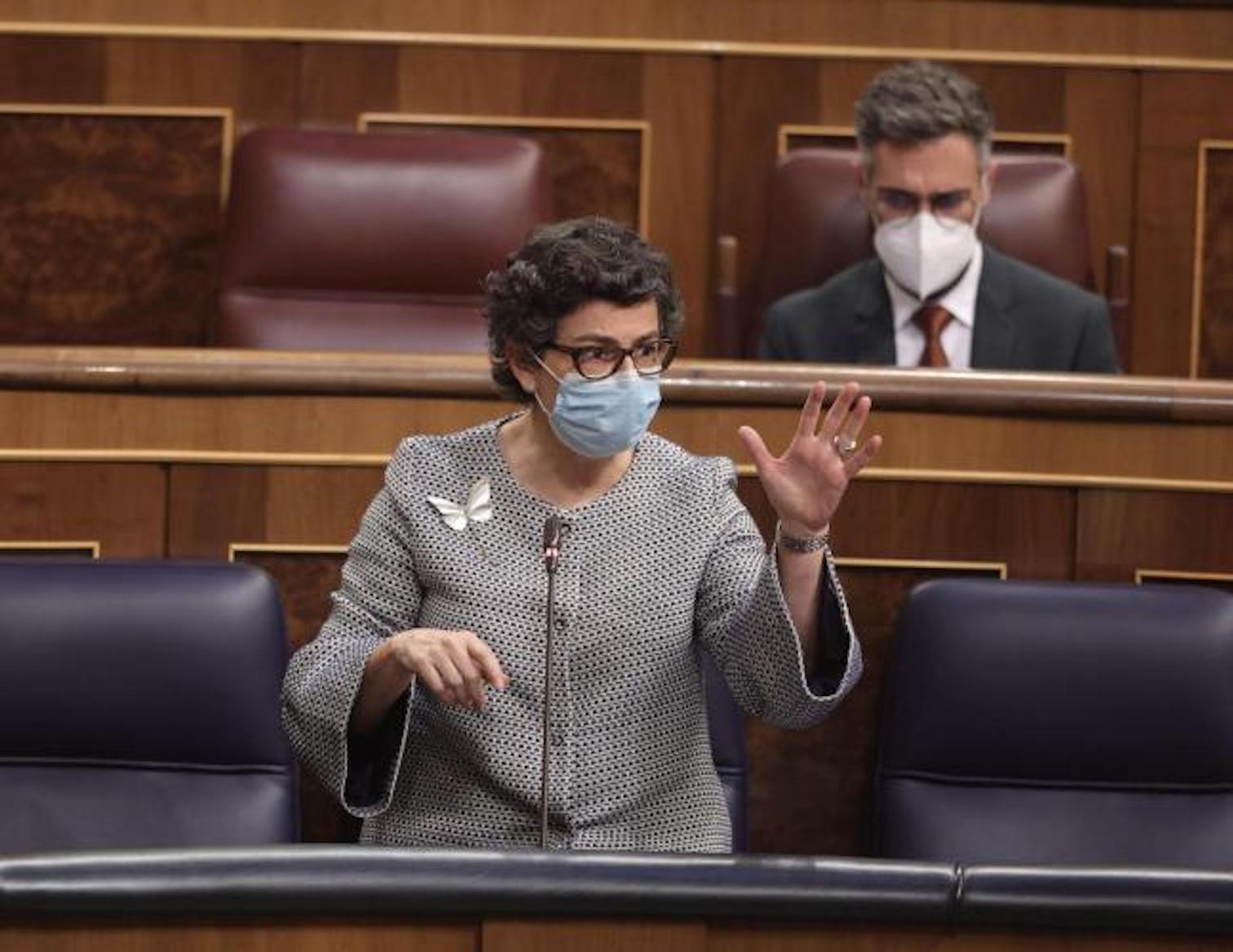 Foreign Affairs, EU & Cooperation Minister, Arancha González Laya.