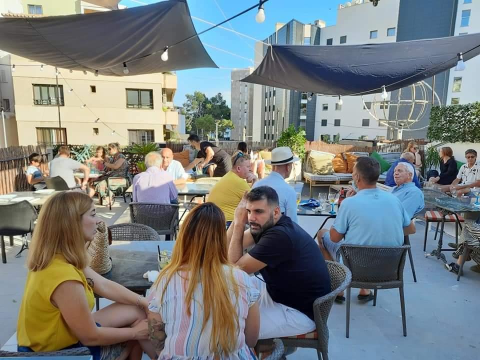 Cool new roof terrace at Pescaderia de Andi