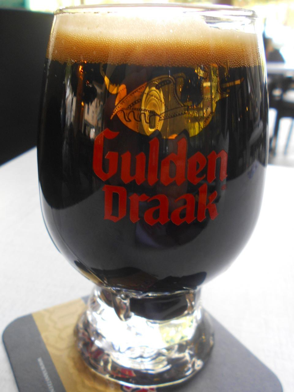 The Imperial stout, a superb black beer