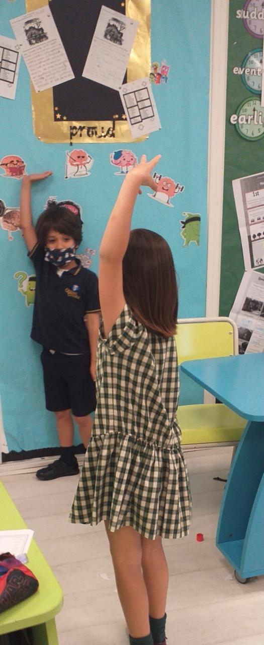 The children in Year 2 are always busy finding out about their world