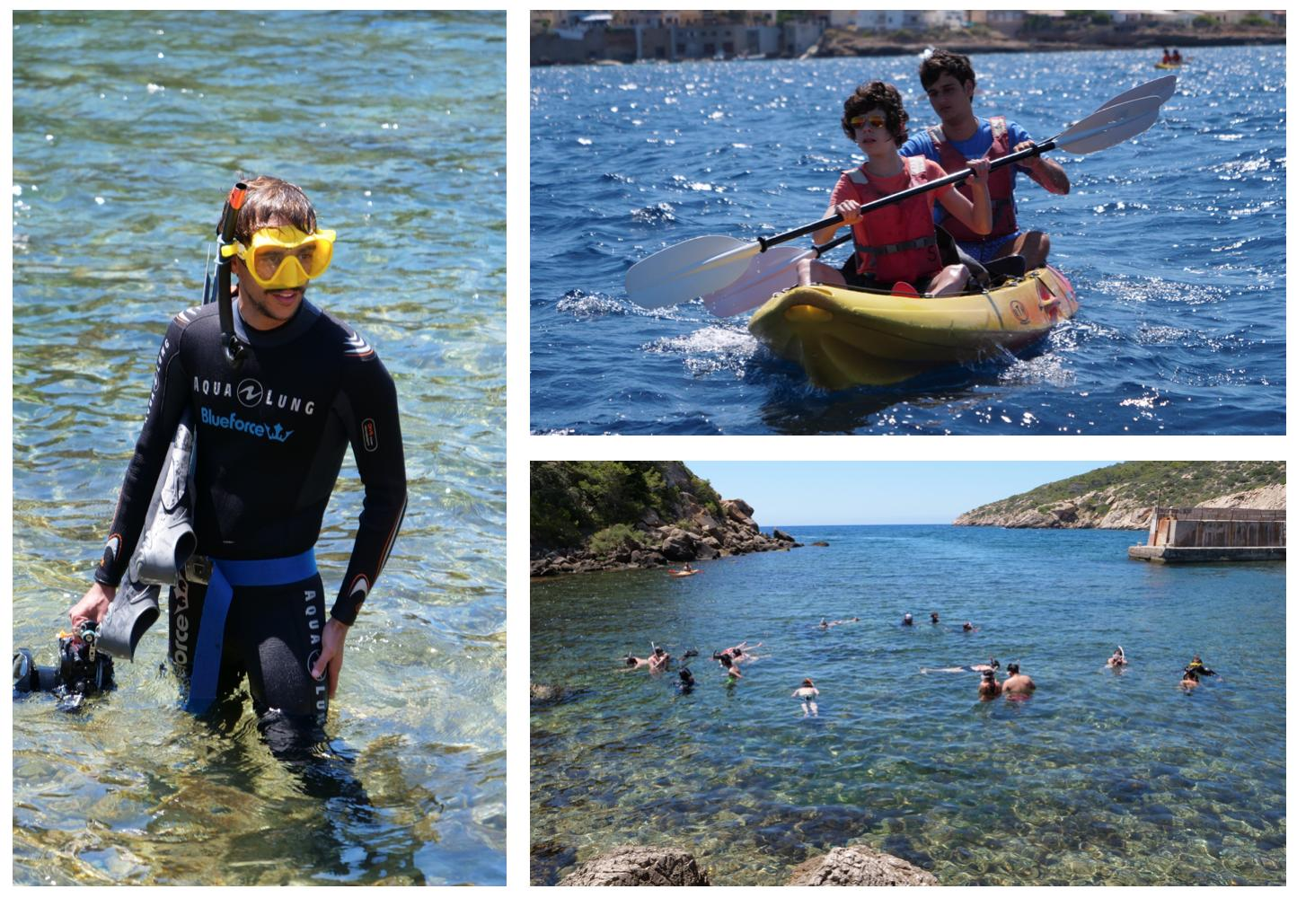 Educational outdoor activities in the Sa Dragonera Marine Protected Area (MPA)