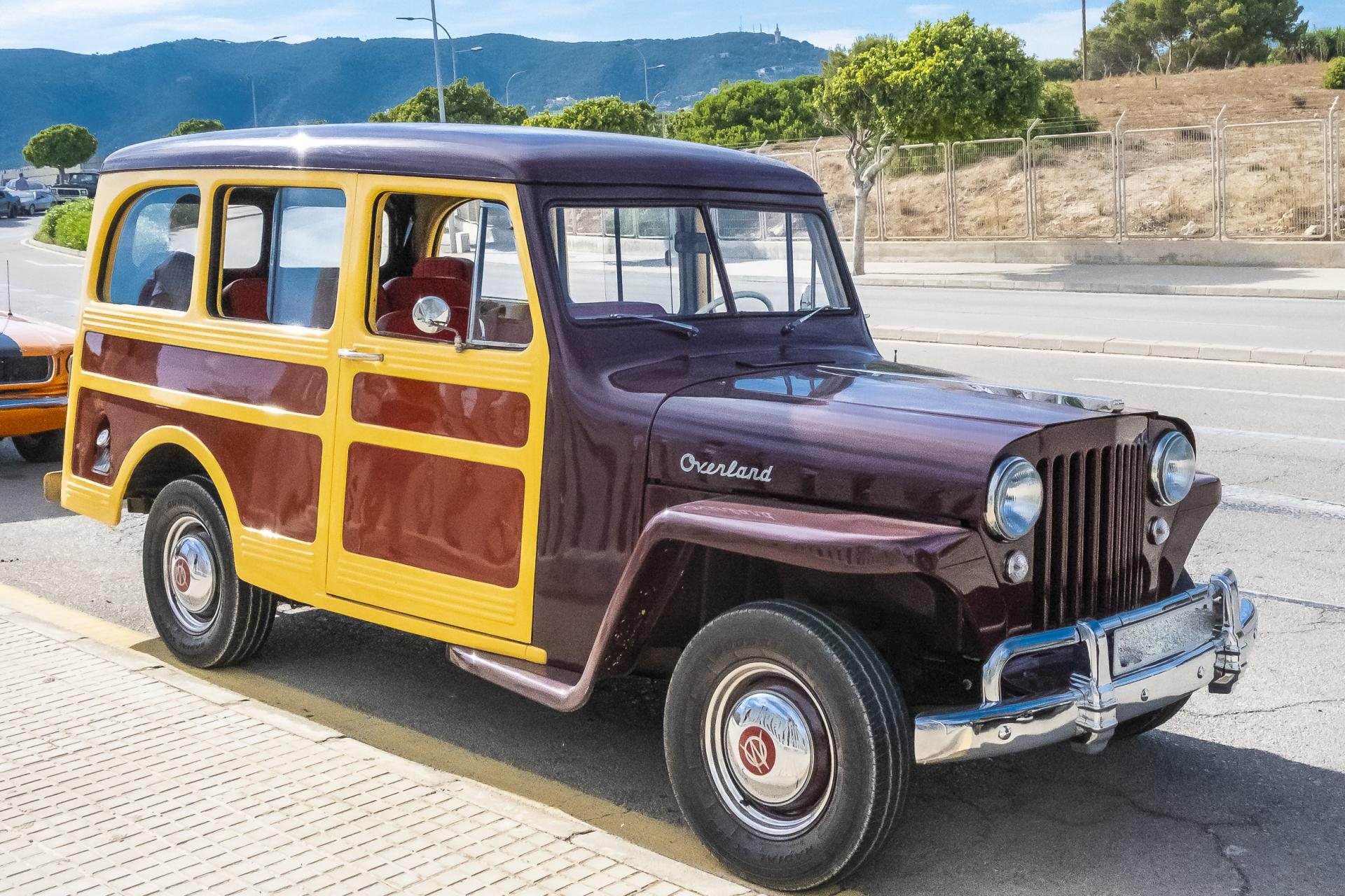 Forerunner of every single SUV ever made, Willys (Jeep) Overland Station Wagon