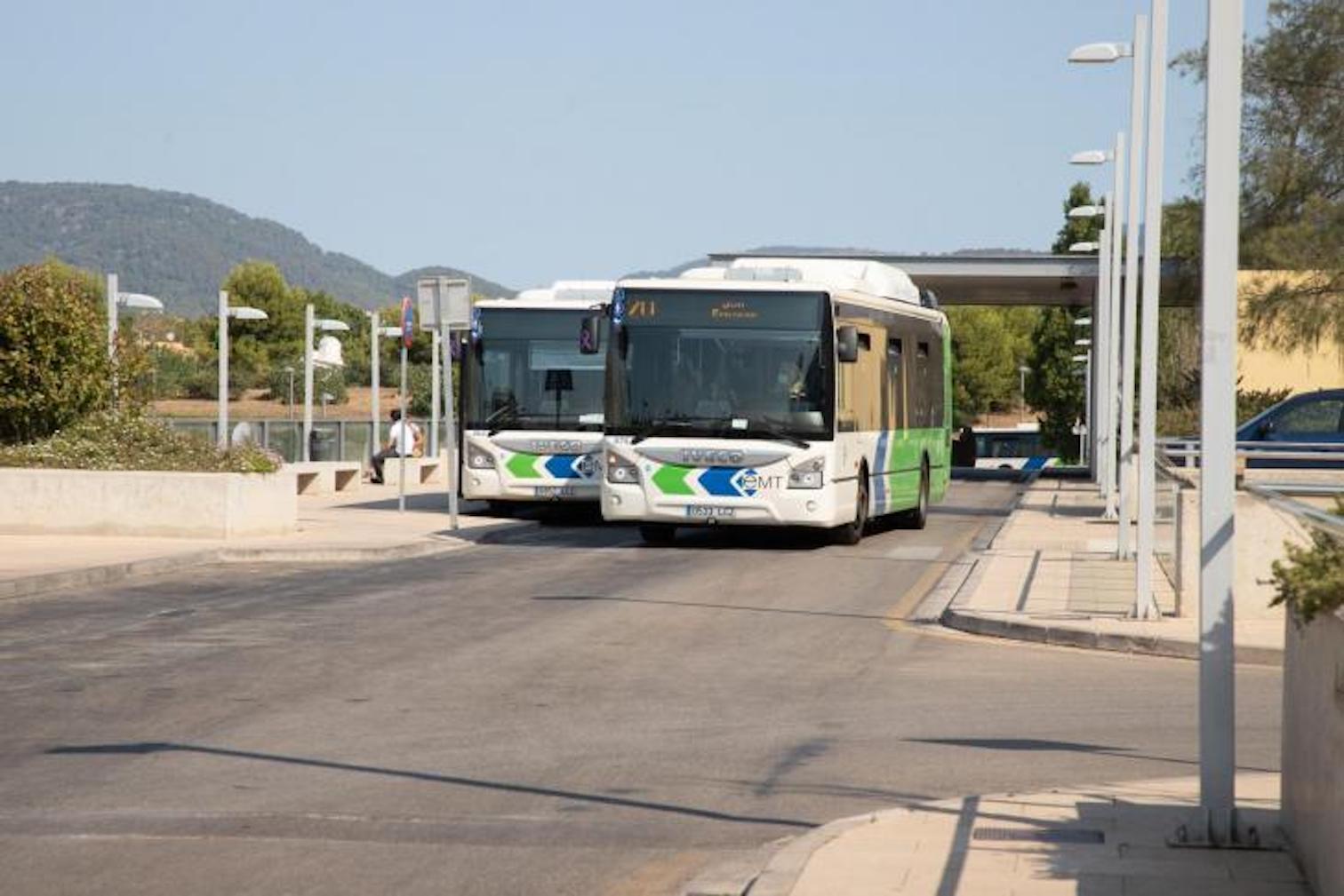 EMT bus, Palma.