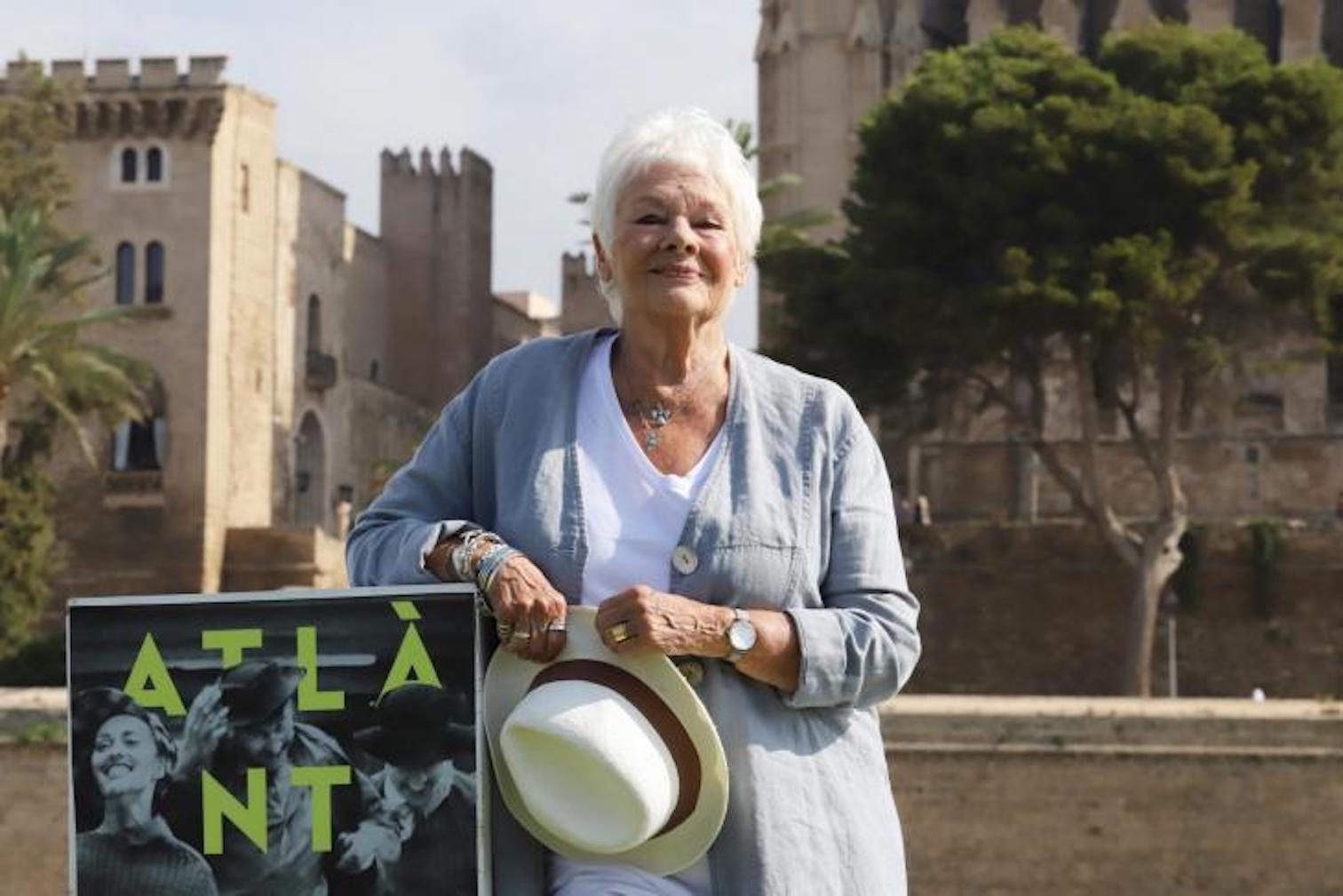 Dame Judi Dench in Palma.