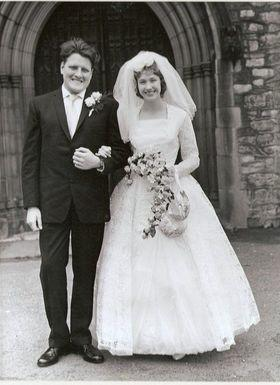 Margaret and Chris 12th August 1961