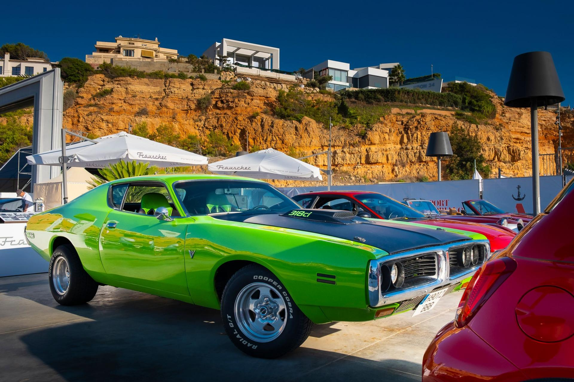Dodge Charger, I think this colour is 'Green Go' from 1971-1974