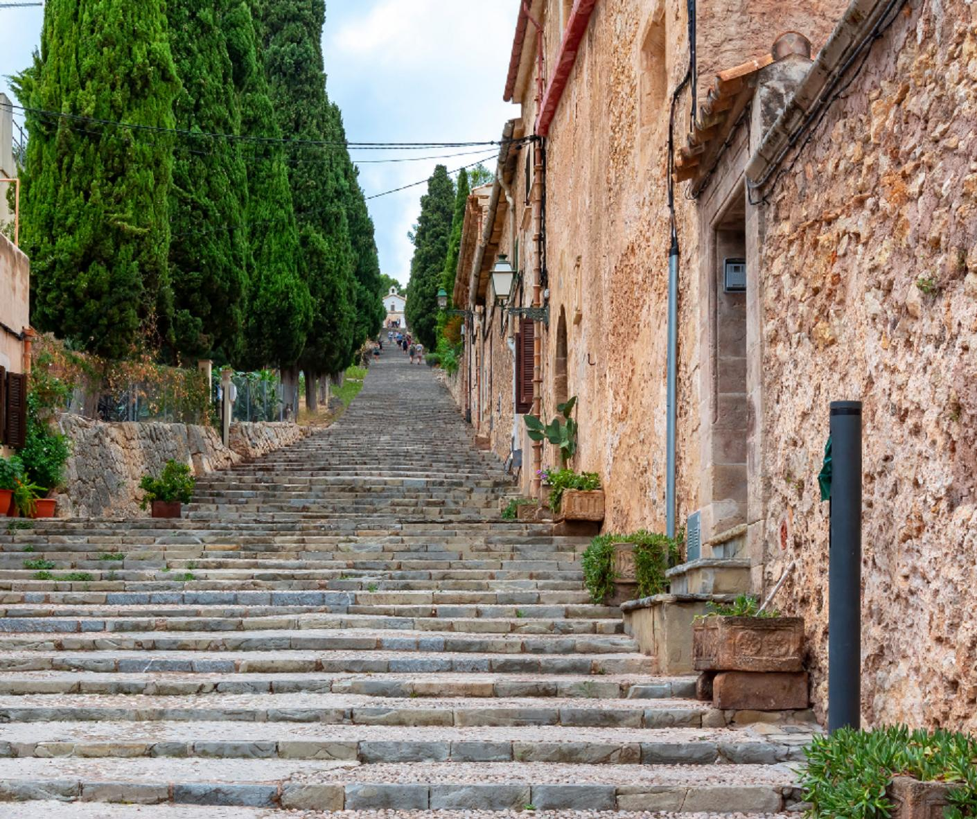 The Calvari steps.