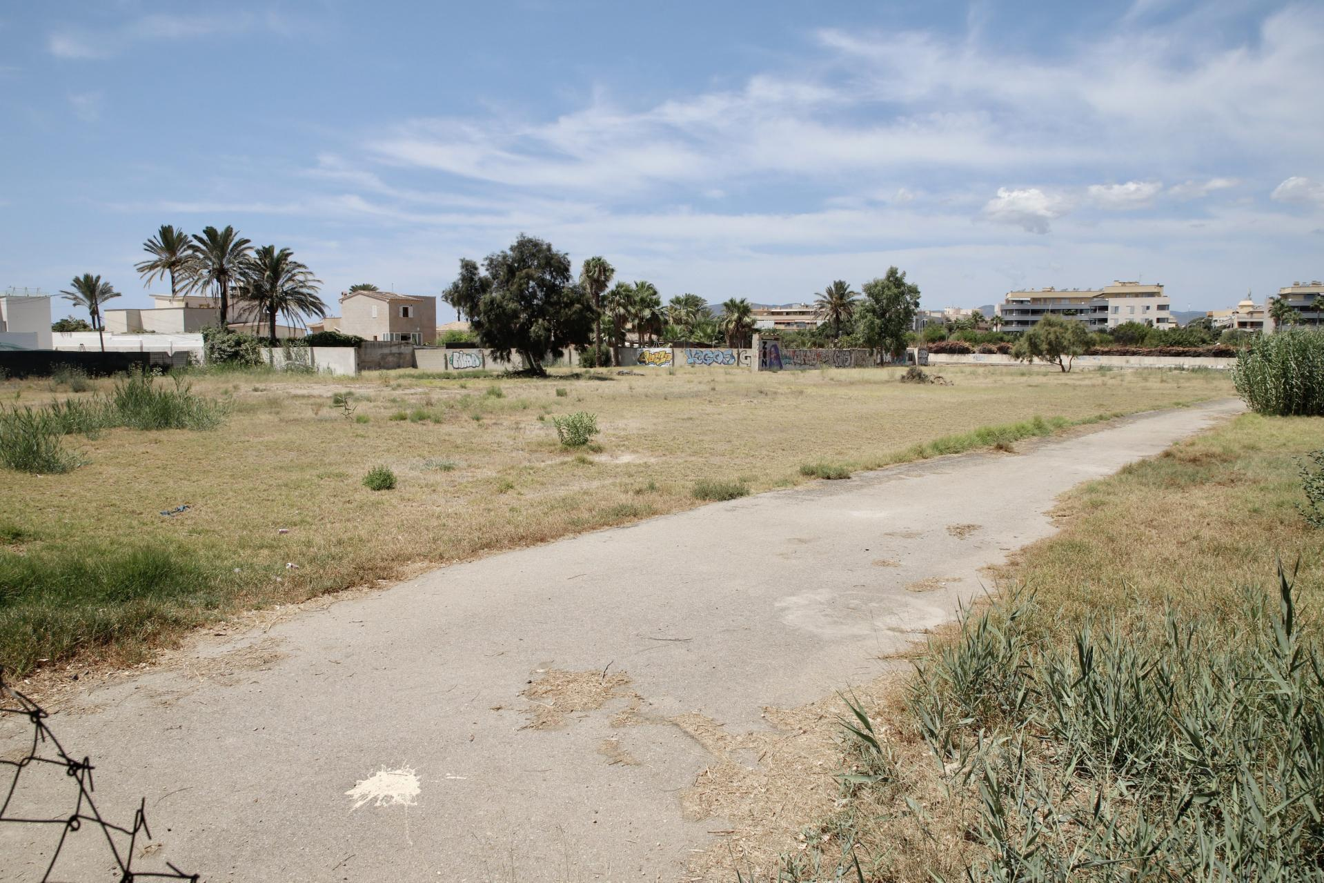 the proposal to use part of a municipal park in Palma for motorhomes and camper vans