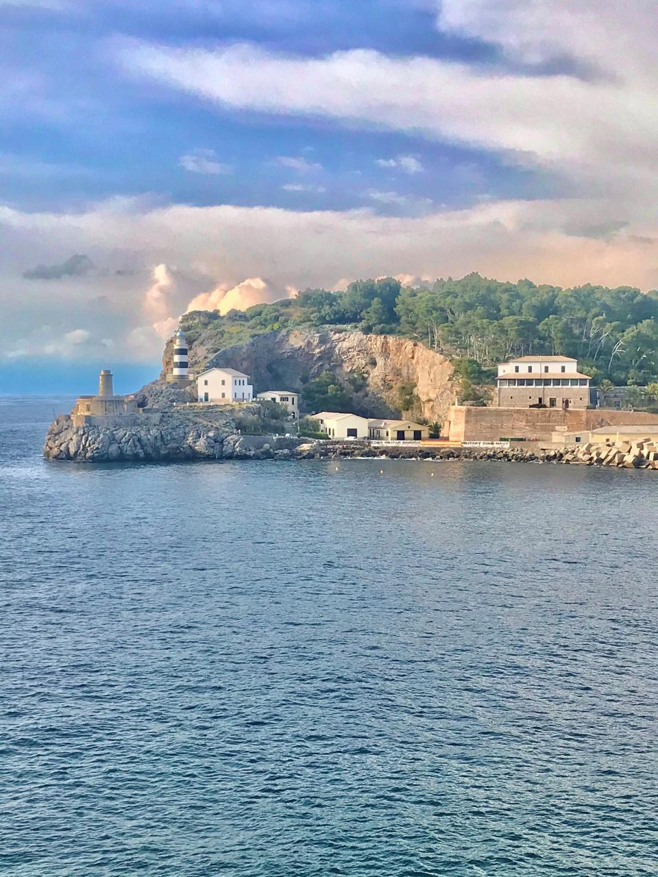 The old Sa Muleta lighthouse